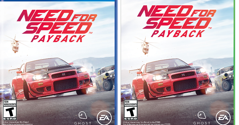 need for speed payback for ps4 or xbox one free pickup at walmart or free shipping with. Black Bedroom Furniture Sets. Home Design Ideas