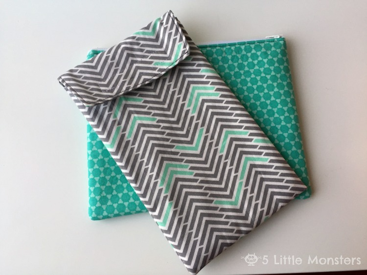 Diaper clutch set