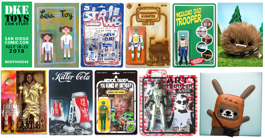 9da709faa62f Even More Star Wars-inspired Bootleg Resin Toy Collectibles from DKE Toys    San Diego Comic Con 2018 (Part 2)