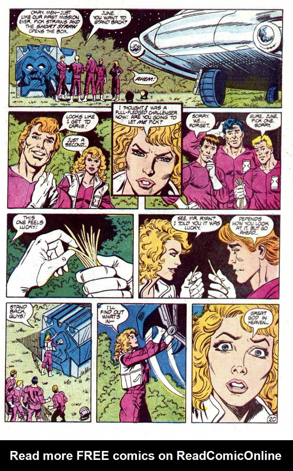 Read online Secret Origins (1986) comic -  Issue #12 - 40