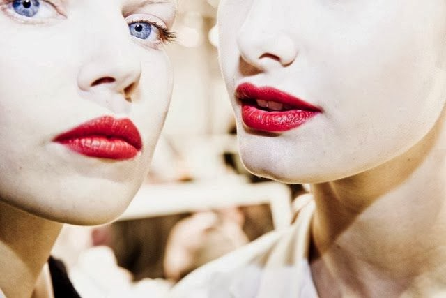 Backstage Dior spring summer 2014