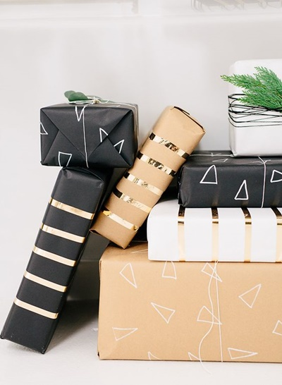 modern giftwrapping