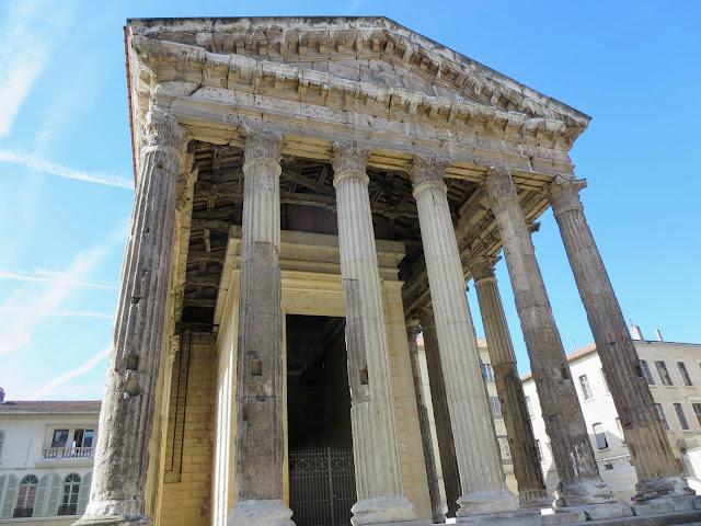Lyon to Vienne France: Temple d'Auguste