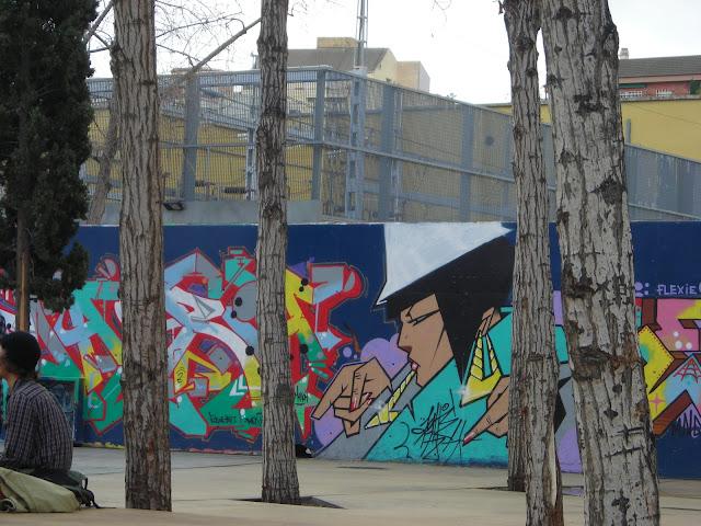 גרפיטי בברצלונה