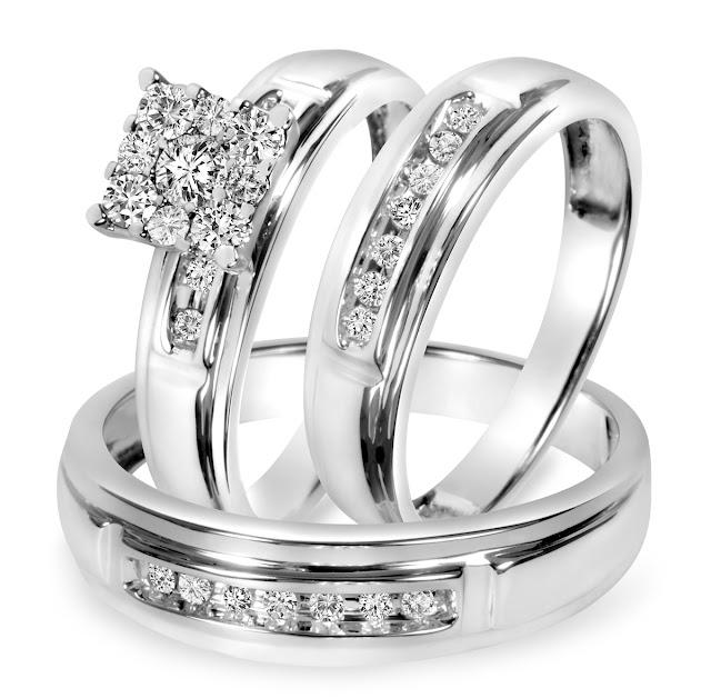 Wedding Ring Trios Cheap