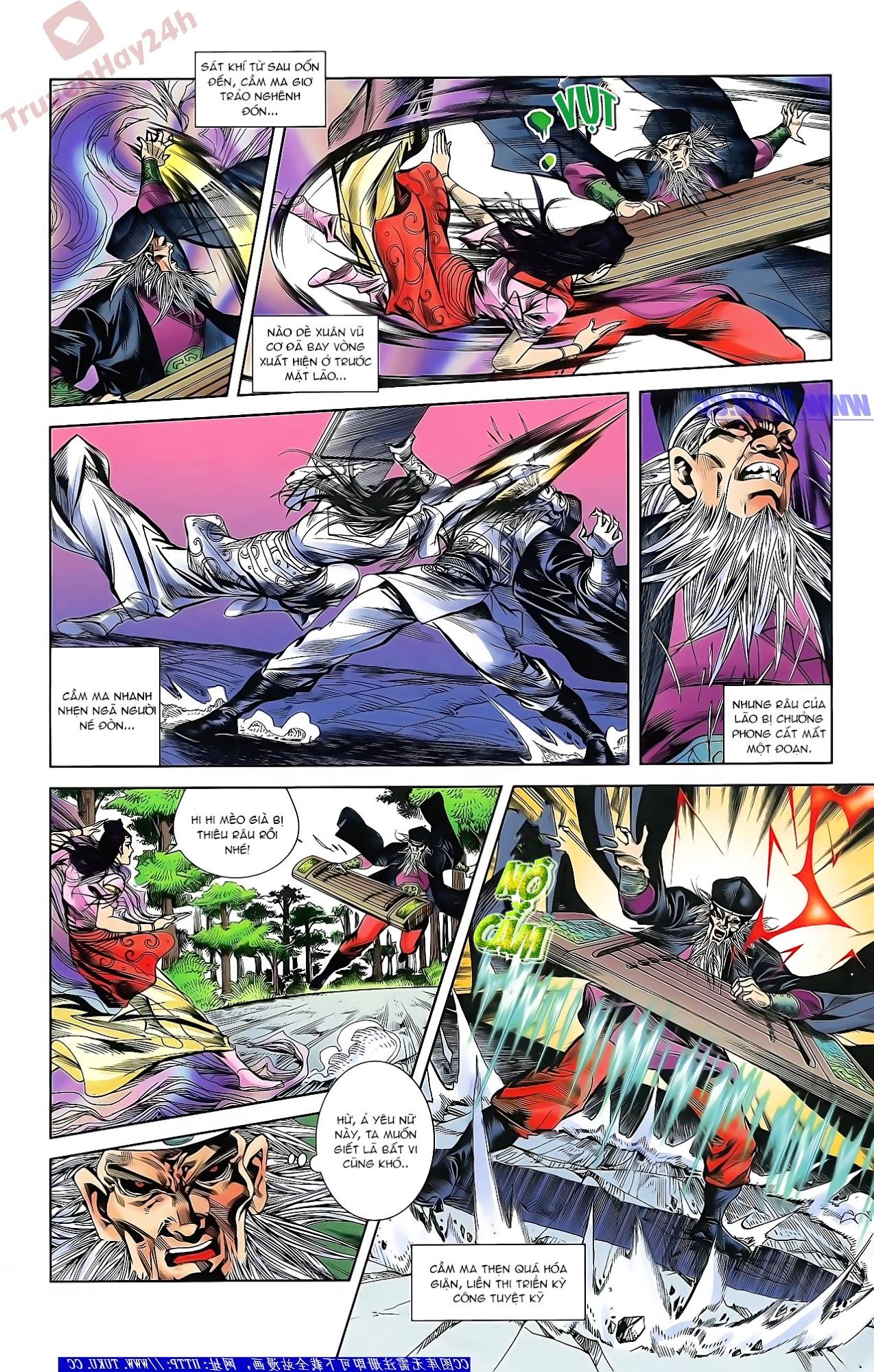 Tần Vương Doanh Chính chapter 46 trang 15
