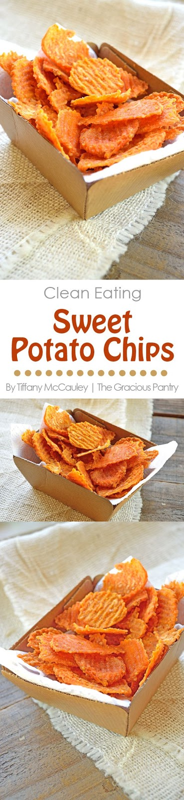 CLEAN EATING TWICE BAKED SWEET POTATO CHIPS RECIPE