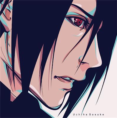 Fan Art Uchiha Sasuke