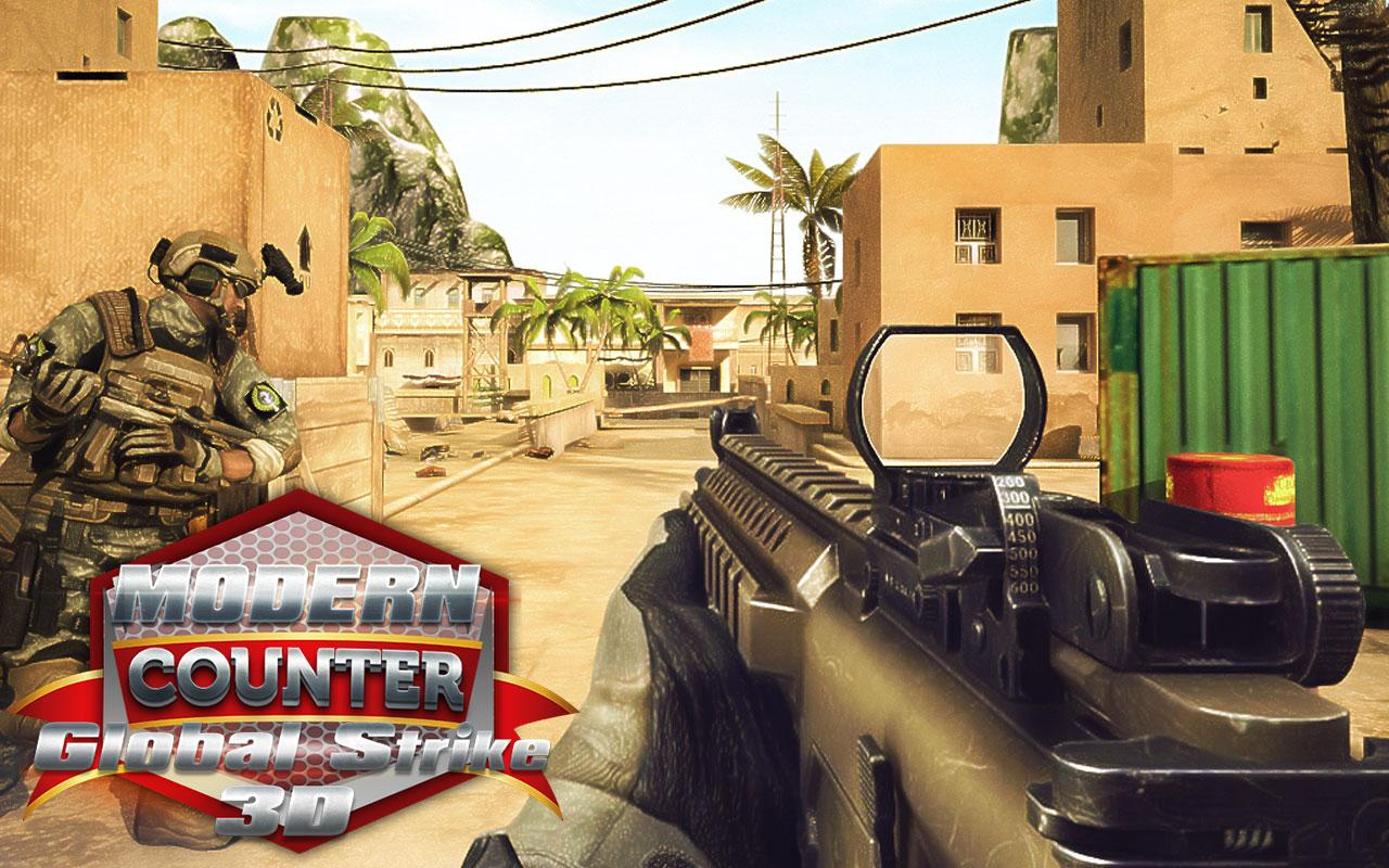 Modern Counter Global Strike 3D MOD APK