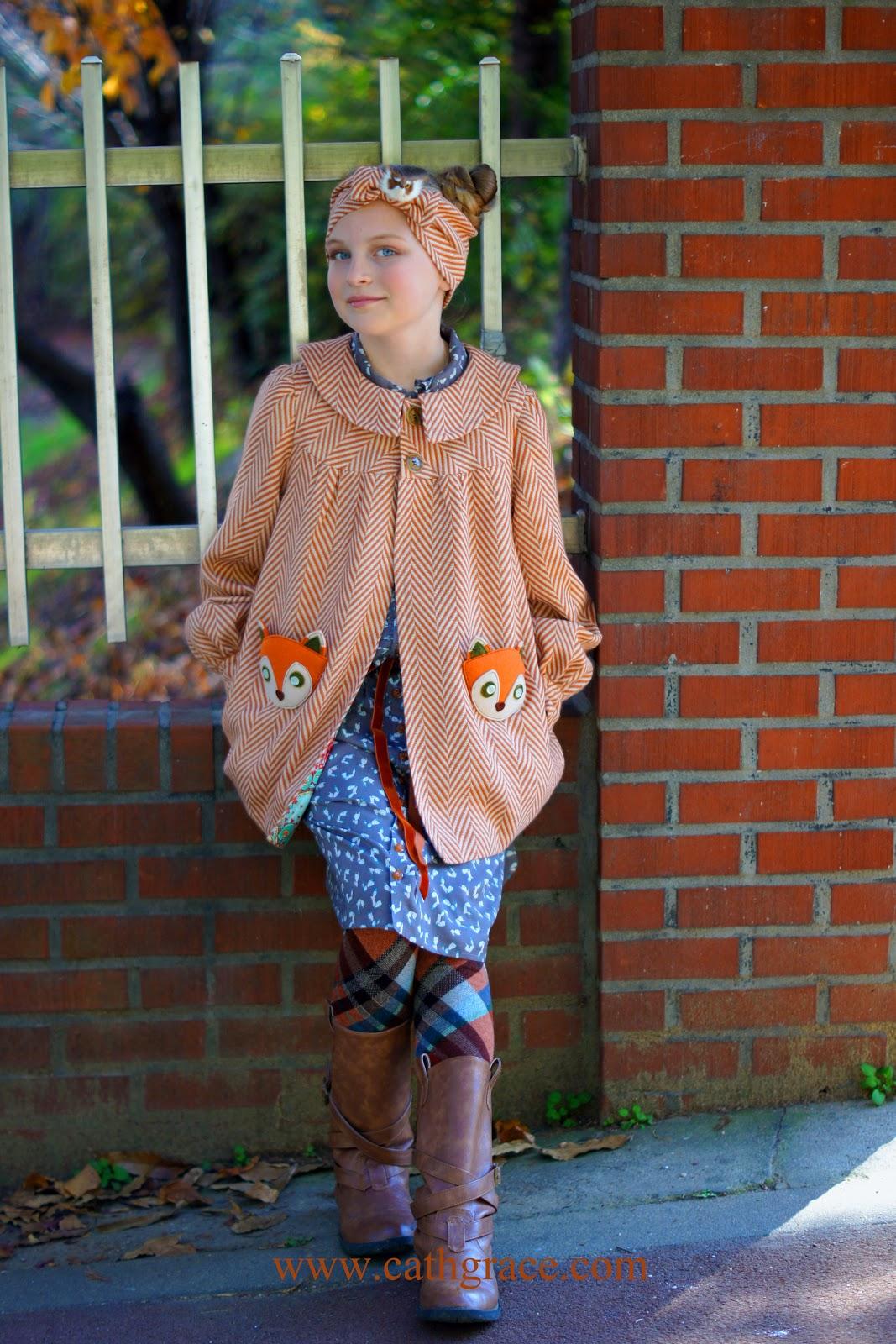 Emmie S Fall Fox Coat Cathgrace