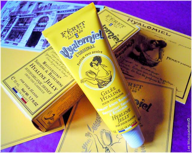Hyalomiel gelée hydratante mains - Féret Parfumeur - Blog beauté Les Mousquetettes©