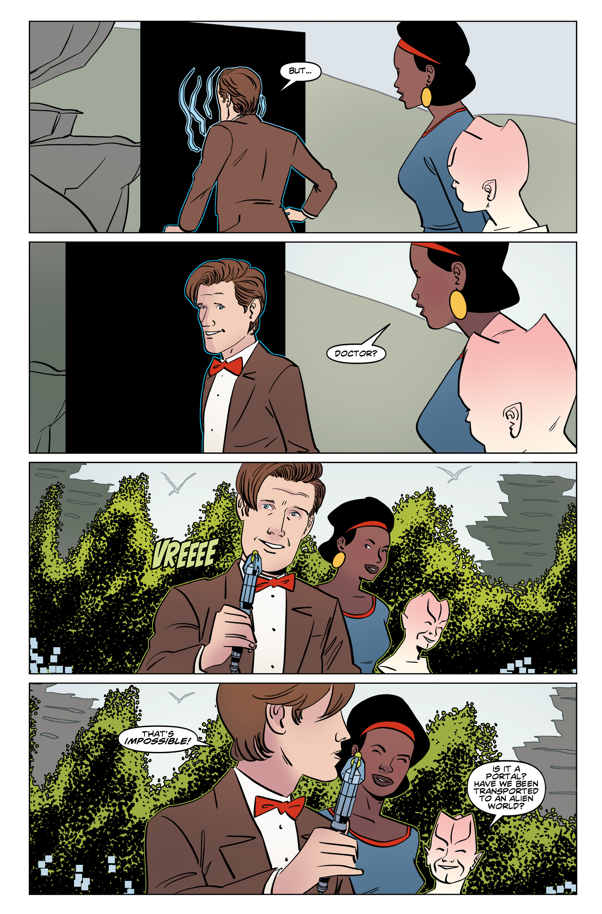 Read online Doctor Who: The Eleventh Doctor Year Three comic -  Issue #6 - 12