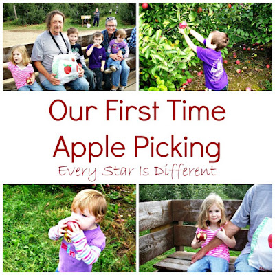 Our First Time Apple Picking