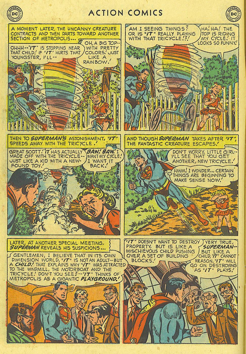 Action Comics (1938) 162 Page 8