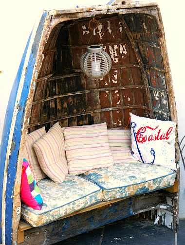 17 Home Decor Ideas With Boats Repurposed Boats