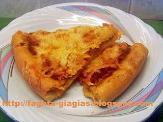 Πίτσα με κιμά - από «Τα φαγητά της γιαγιάς»