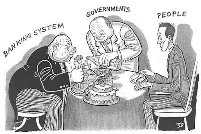 Image result for evil bankers