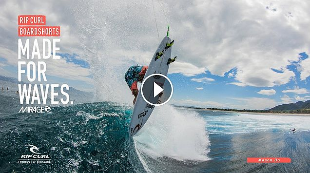 Mason Ho Made for Waves Indo Boardshorts by Rip Curl