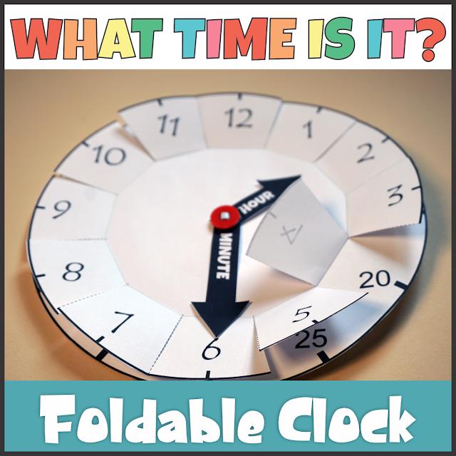 https://www.teacherspayteachers.com/Product/Foldable-Clock-Telling-Time-Activity-4050989