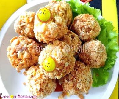 Foto Resep Kroket Kentang Panggang Corn Flakes Sederhana Spesial Asli Enak