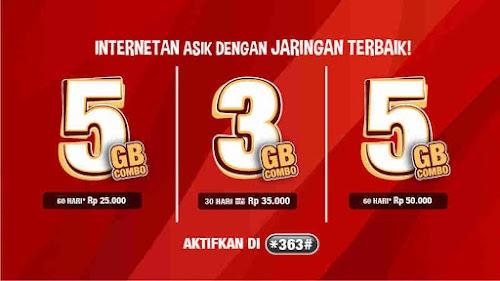 Cara Daftar Paket Internet 5Gb Rp 25000 Kartu As