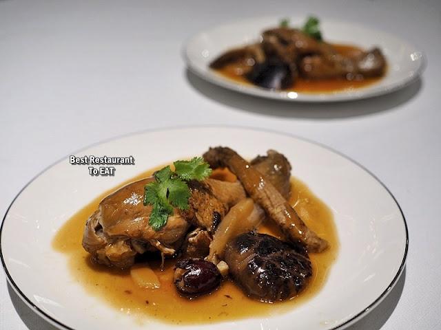 Chinese New Year Set Menu - Wan Chun Ting - Menu - Boneless Chicken With Chinese Herbs