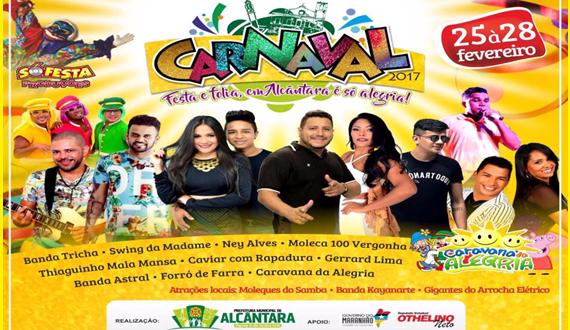 PROGRAMACAO - Carnaval em Alcântara-MA