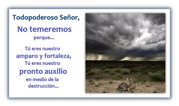 Oración para Desastres Naturales - Buscando la Protección y la Ayuda de Dios.