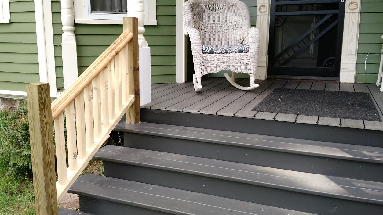 1893 victorian farmhouse railings for the wrap around porch