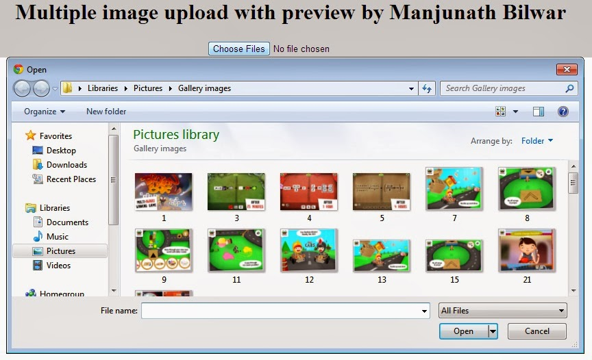 Multiple Images Uploading Using Dropzone Js – Desenhos Para Colorir