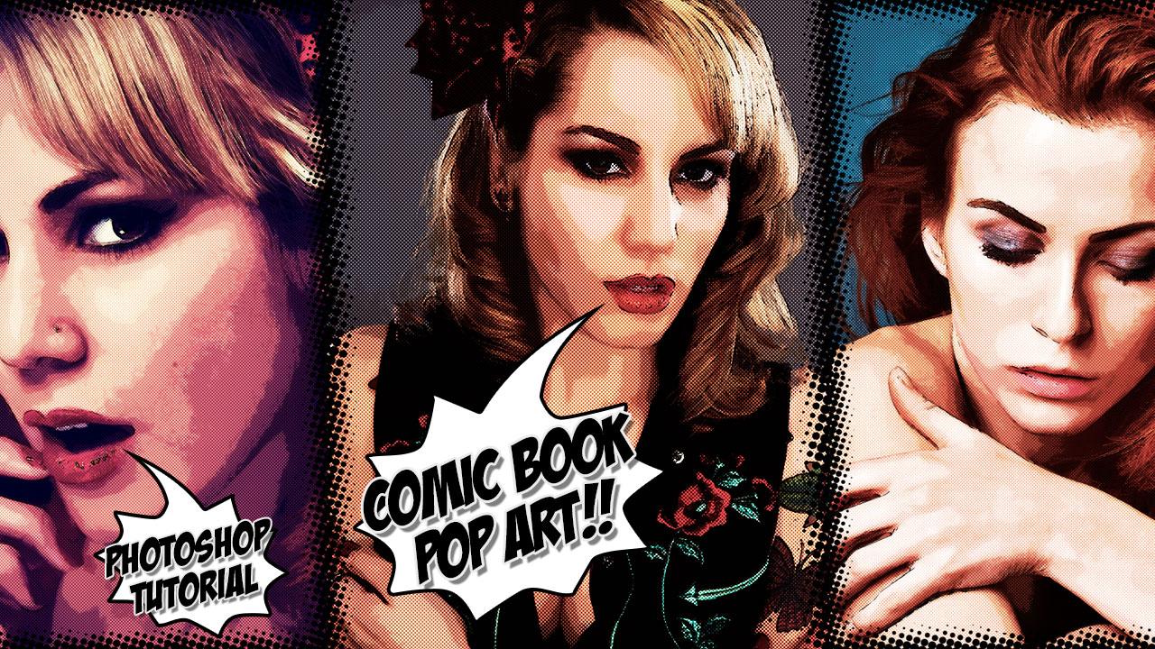 Create A Comic Book Pop Art Effect In Photoshop