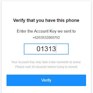Verifikasi Akun Yahoo Email (Ymail) via SMS
