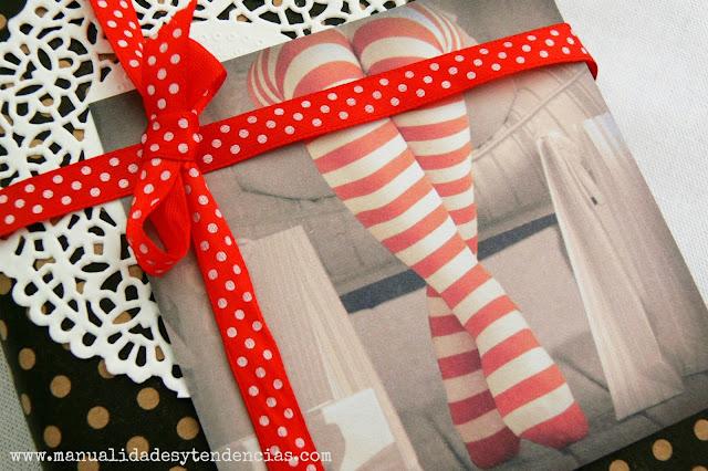Paquete de regalo con foto