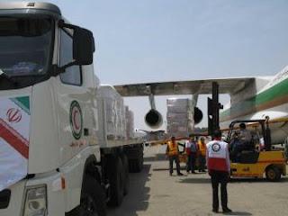 وصول المساعدات الأنسانية الأيرانية و توزيعها على مسلمين الروهينغا في ماينمار