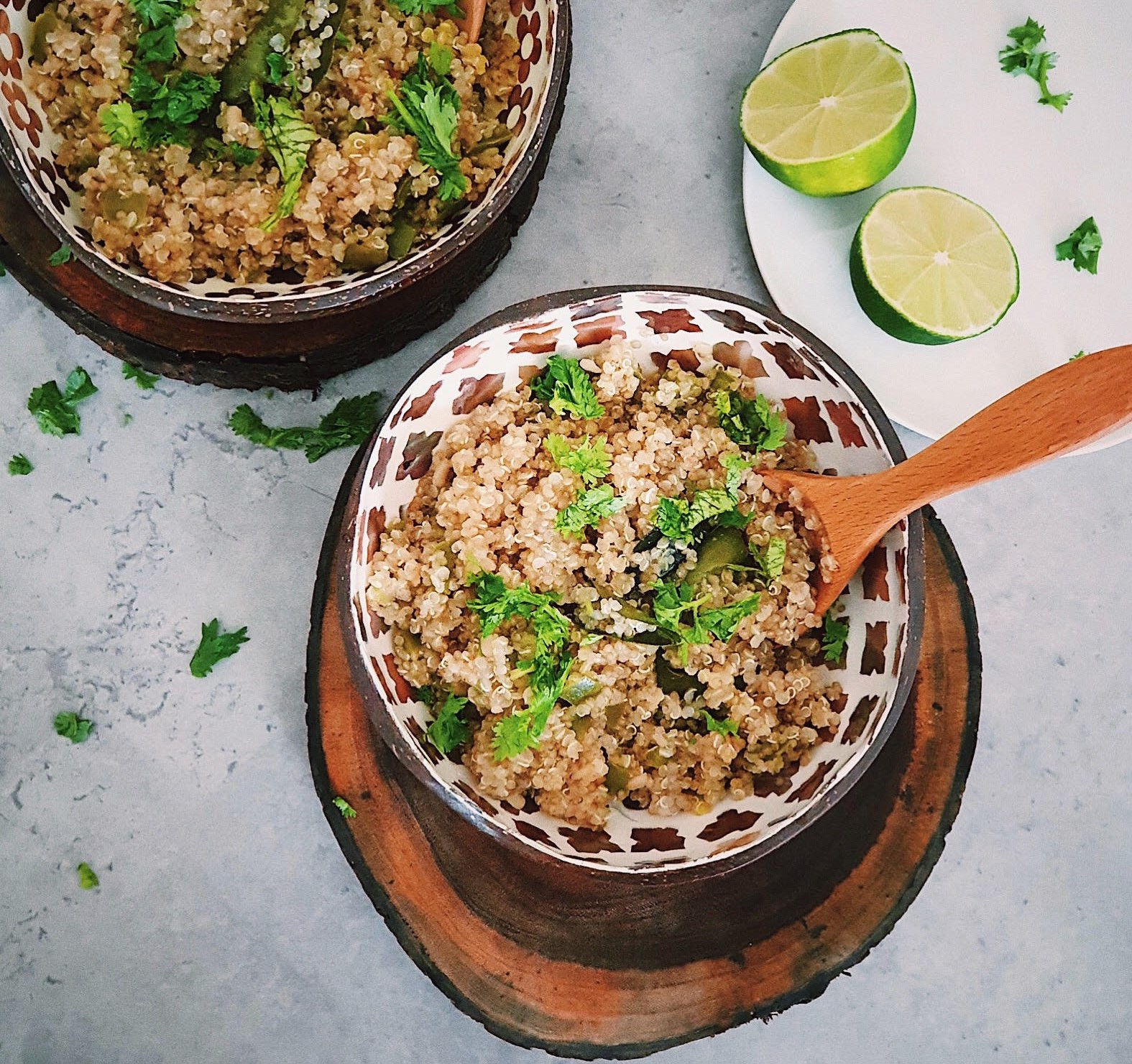 Quinoa Upma - Best Quinoa Recipes - Vegan Breakfast Ideas
