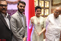 Samantha Ruth Prabhu in Cream Suit at Launch of NAC Jewelles Antique Exhibition 2.8.17 ~  Exclusive Celebrities Galleries 055.jpg