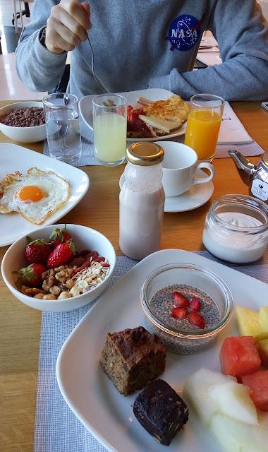 Desayuno/brunch en el Hotel Gran Bilbao