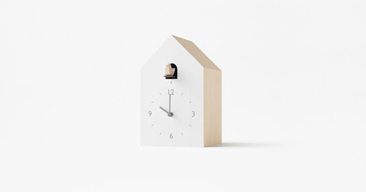 Non-Traditional Cuckoo Clocks by Nendo