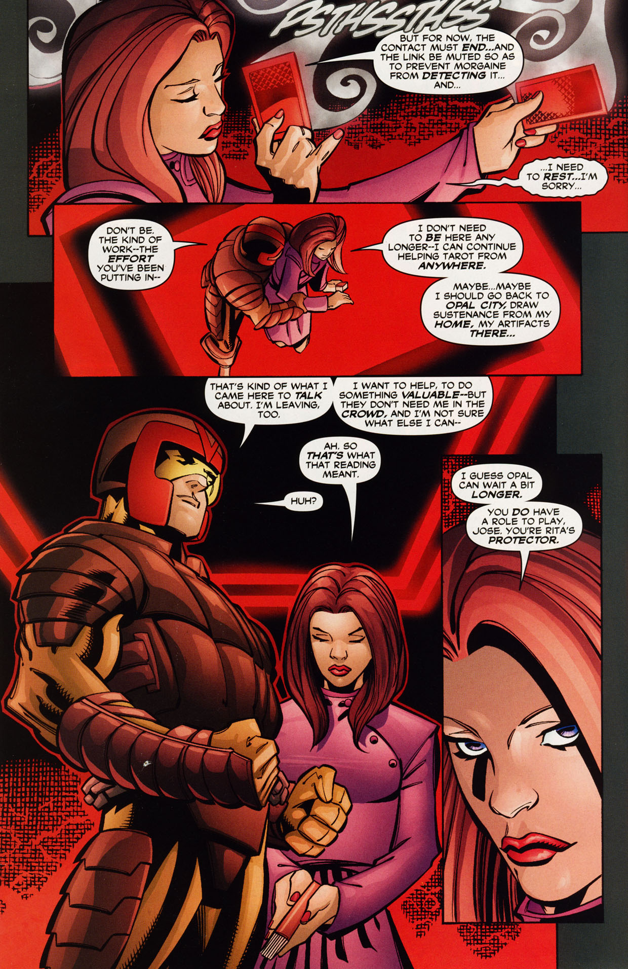Read online Trinity (2008) comic -  Issue #42 - 28