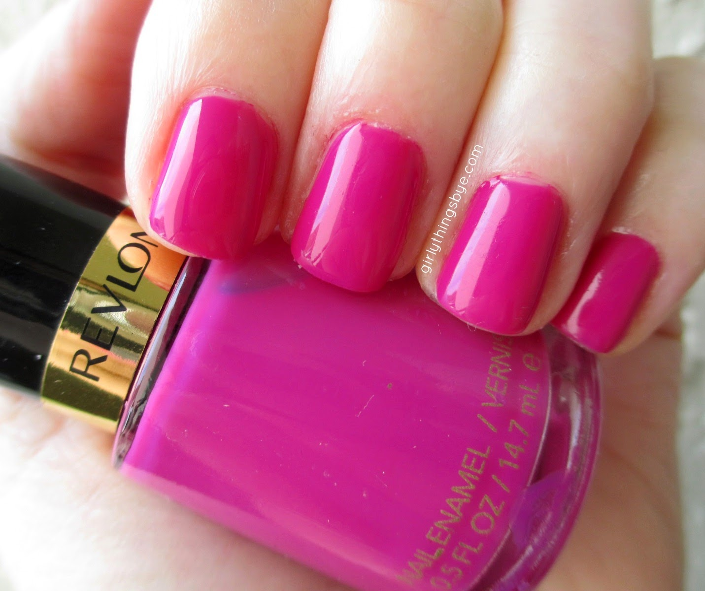 Revlon Plum Seduction nail enamel, radiant orchid, girlythingsby_e