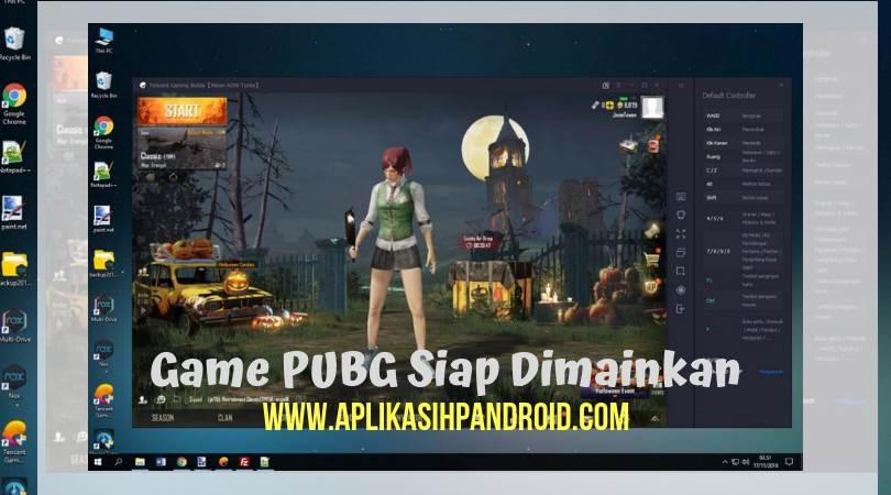 Cara bermain PUBG di PC dengan menggunakan software Tencent Gaming 4