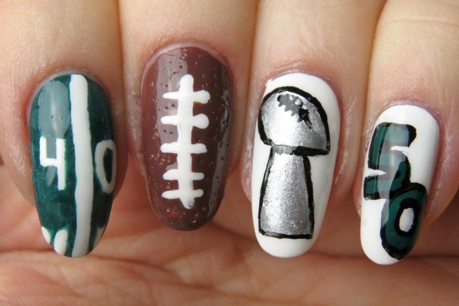 Mani Monday: Super Bowl 50 | Kaitlyn Elisabeth Beauty