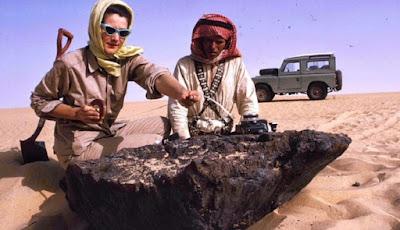 Meteor yang menghantam Arab Saudi