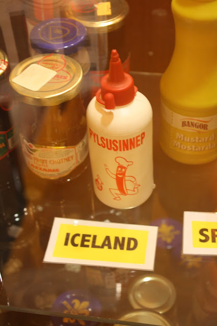Icelandic mustard in the National Mustard Museum's collection