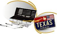 Logo ''Fatti l'uno per l'altra'' : vinci 129 set barbecue e un viaggio in Texas