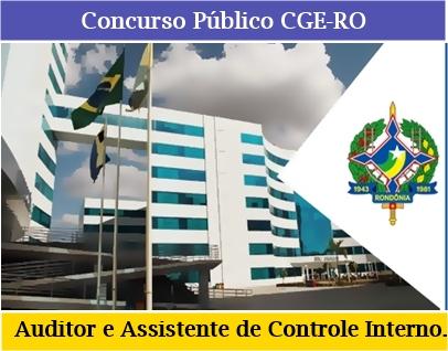 Apostila CGE Rondônia Auditor e Assistente Assistente de Controle Interno