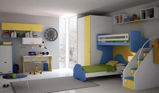 15 Desain Warna Cat Kamar Tidur Anak Pilihan Terbaik