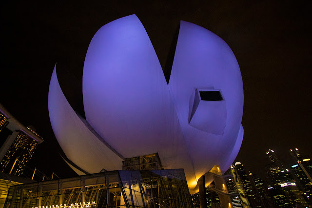 Art Science Museum e Marina bay Sands-Singapore