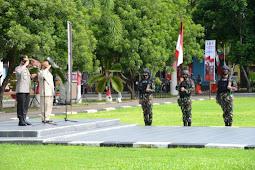 Rusli Habibie dan Adnas Lepas Pengiriman 1 SSK Brimob Polda Gorontalo ke Puncak Jaya
