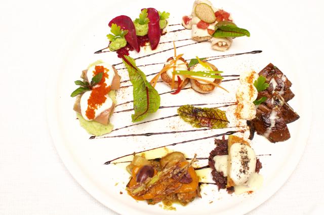 Italian Fare, Chef Alessandro at Focaccia